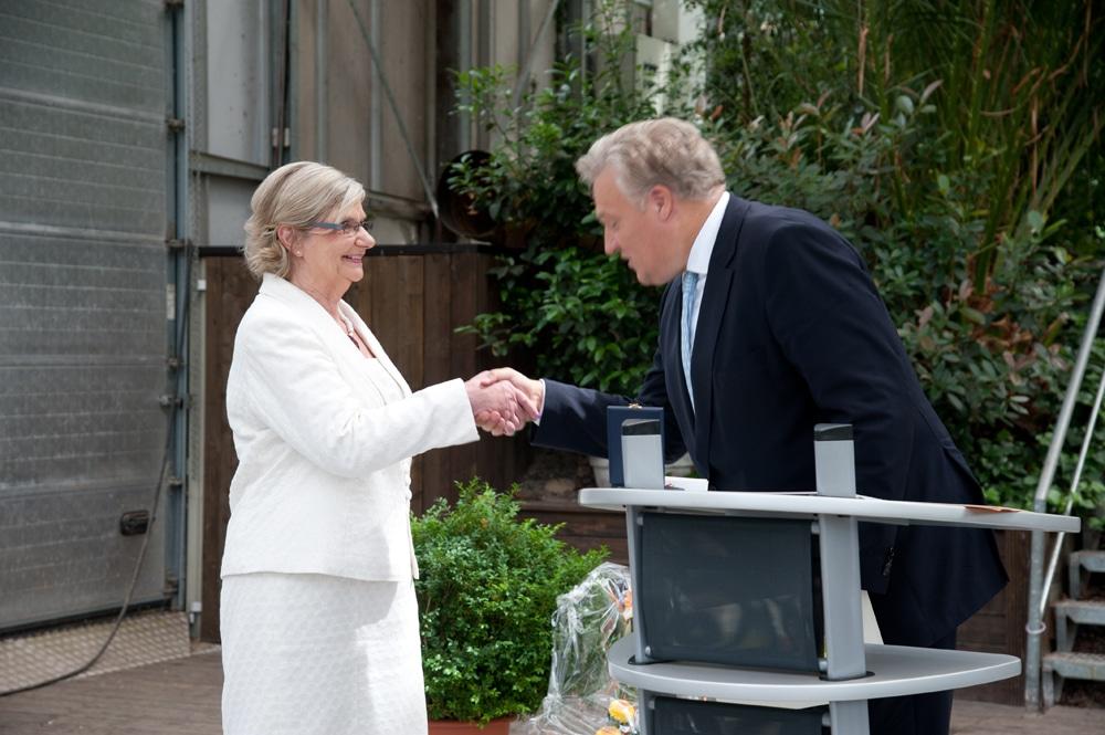 Bundesverdienstkreuz für Helga Maschke
